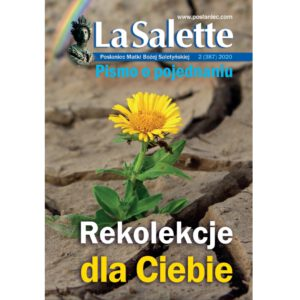 "okładka PMBS ""La Salette"" nr 2/2020 - Rekolekcje dla Ciebie"