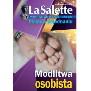 Okładka LaSalette 4/2020 Modlitwa osobista