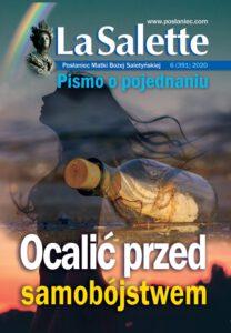 """Okładka nr 6/2020 Posłaniec Matki Bożej Saletyńskiej """"LaSalette"""""""